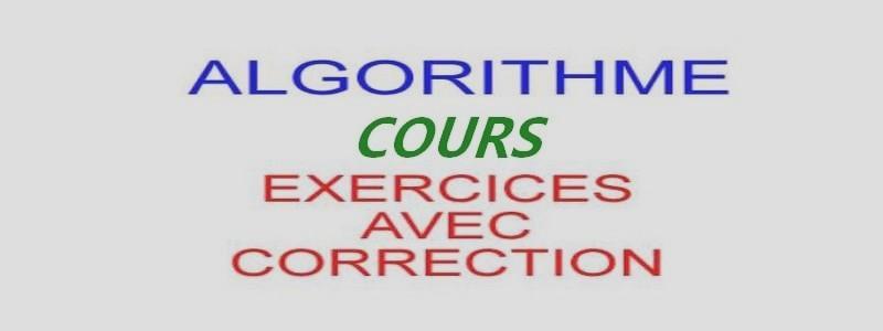 Catégorie: <span>Cours algorithme</span>