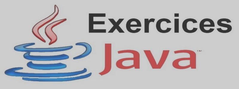Catégorie: <span>Exercices Java</span>